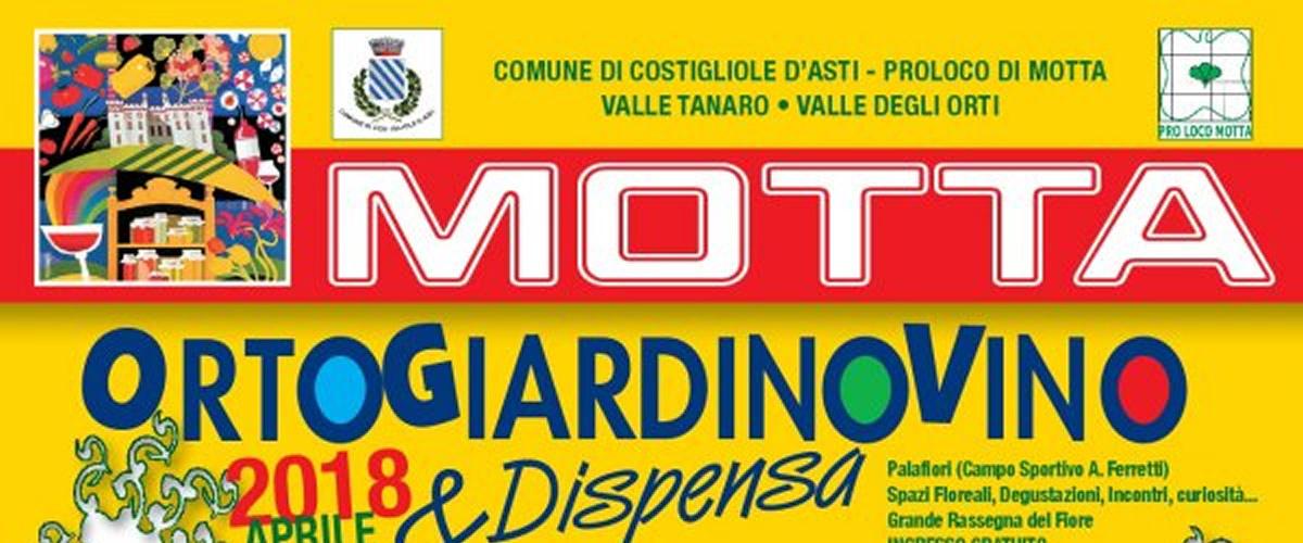 """A Motta di Costigliole d'Asti si gusta la primavera con """"Ortogiardinovino & Dispensa""""."""