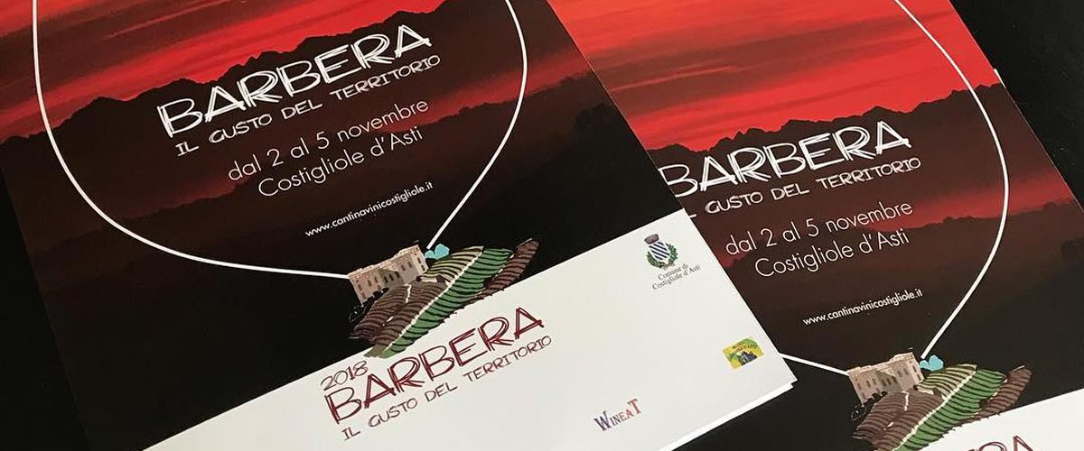 Barbera gusto del territorio 2018: il programma e gli eventi.