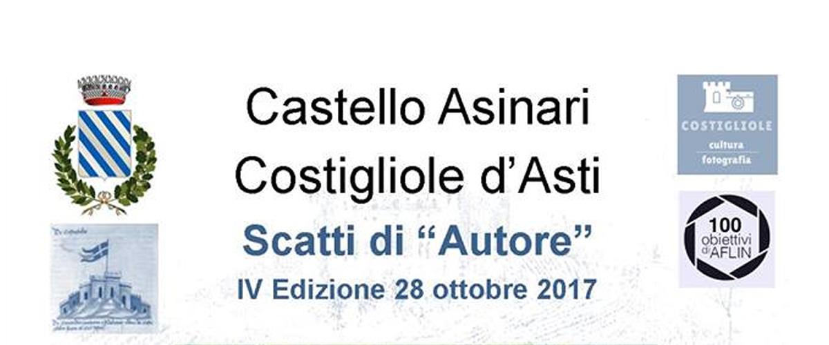 """Arte e Fotografia al castello di Costigliole d'Asti con """"Scatti d'Autore""""."""