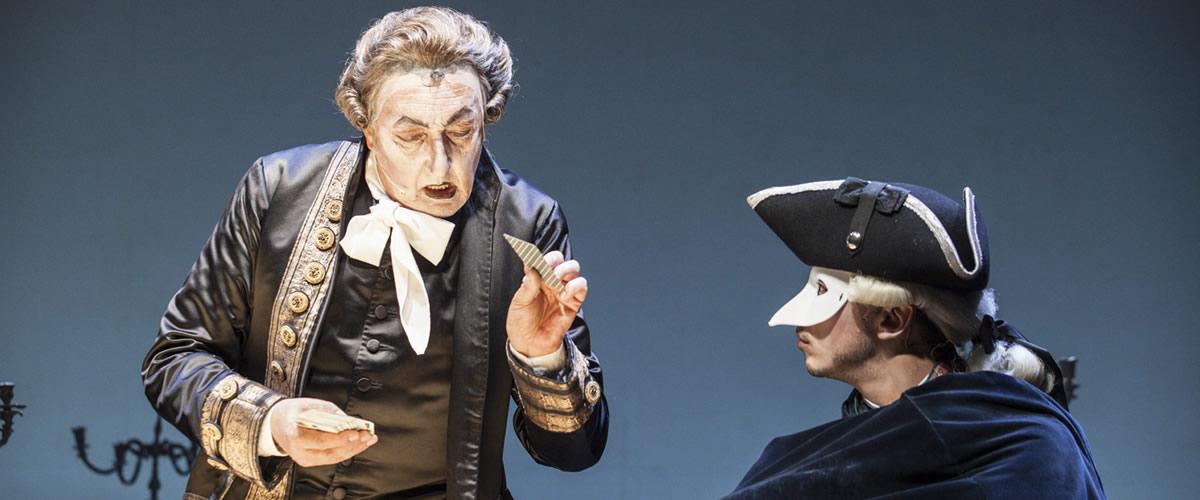 """""""Il ritorno di Casanova"""" al teatro di Costigliole d'Asti."""